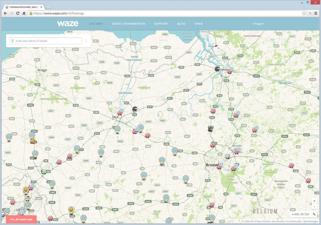 Gratis op Community gebaseerde Kaarten, Verkeers & Navigatie App